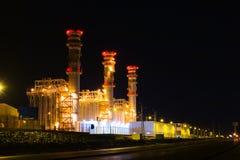 ноча здания Стоковые Фото