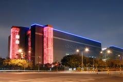 ноча здания Стоковое Изображение