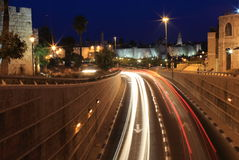 Ноча Иерусалим Стоковое фото RF