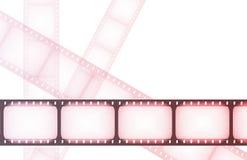 ноча кино наматывает экстренныйый выпуск Стоковое Изображение RF