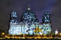 ноча купола berlin Стоковое фото RF