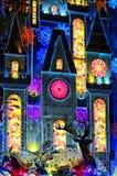 ноча ландшафта рождества Стоковое Фото