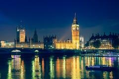 Ноча Лондона стоковое фото rf
