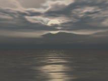 ноча луны иллюстрация штока