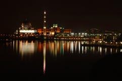 ноча мечети стоковое изображение