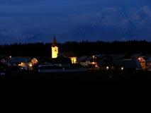 ноча мирная Стоковое фото RF