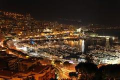 Ноча Монако стоковые изображения rf