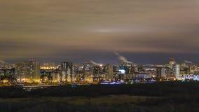 Ноча Москва Стоковое Фото