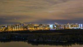Ноча Москва Стоковое Изображение RF