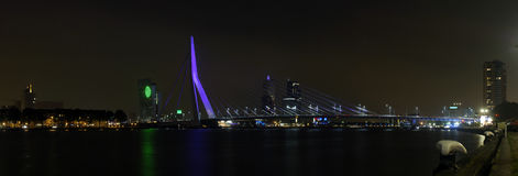 ноча моста Стоковые Фотографии RF