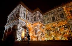 ноча музея Стоковая Фотография RF