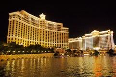Ноча на Лас-Вегас Стоковое Изображение RF