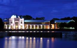 Ноча на музее Стоковые Изображения