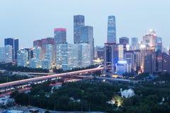 Ноча на Пекине стоковая фотография