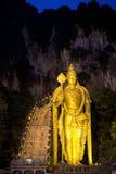 Ноча на пещерах batu Стоковое Изображение