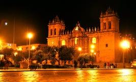 Площадь de Armas de Cusco, Перу Стоковые Изображения RF