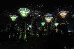 Ноча на садах заливом Стоковое фото RF