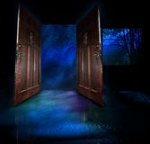 ноча ненастная Стоковое фото RF