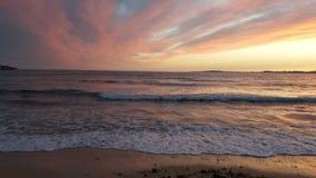 Ноча океана Стоковые Изображения