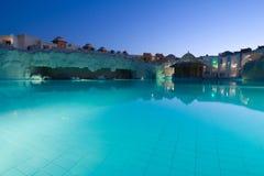 ноча освещения гостиницы роскошная Стоковые Фото