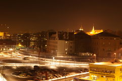 ноча Осло стоковое изображение rf