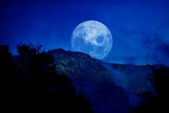 Ноча долины Стоковые Фотографии RF