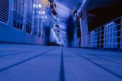 ноча палубы стоковое изображение rf
