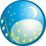 ноча пасхи Стоковое Изображение RF