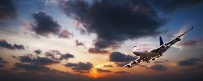 ноча полета Стоковые Фотографии RF