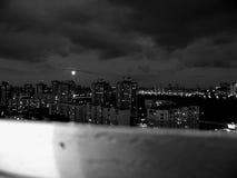 Ноча полнолуния Стоковое Изображение