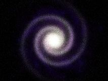 ноча предпосылки звёздная Стоковая Фотография