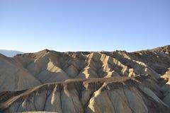 Ноча приходя к Death Valley Стоковая Фотография