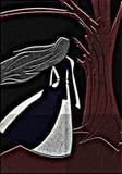 ноча пущи Стоковые Фотографии RF