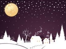 ноча рождества Стоковые Изображения RF