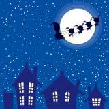 Ноча рождества Санты Стоковое Фото