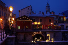 Ноча рождества Стоковое фото RF