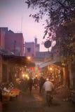 ноча рынка Стоковое фото RF