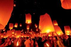Ноча светов Стоковая Фотография
