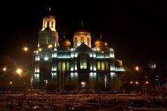 ноча собора Стоковые Изображения RF