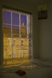 ноча спальни Стоковая Фотография