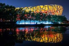 Ноча стадиона стоковые изображения