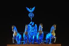 ноча строба brandenburg Стоковые Изображения