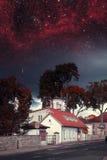Ноча Таллина мистическая Стоковые Фото