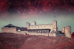 Ноча Таллина мистическая Стоковая Фотография RF