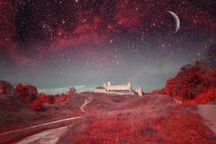 Ноча Таллина мистическая Стоковые Фотографии RF