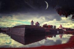 Ноча Таллина мистическая Стоковые Изображения
