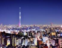 Ноча Токио Стоковые Изображения RF