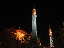 Ноча Турции Стамбула Стоковая Фотография RF