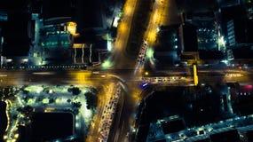 Ноча улицы Стоковые Фотографии RF