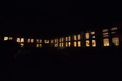 Ноча фабрики стоковые фотографии rf